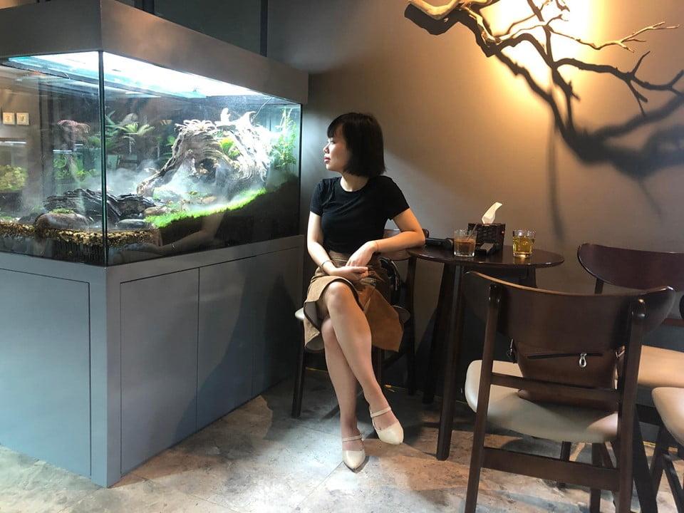 Quán cafe thủy sinh hà nội