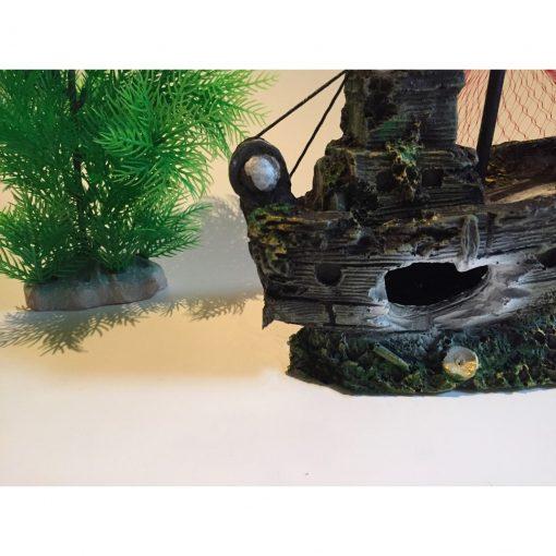 Mô hình tàu đắm trang trí thủy sinh 3