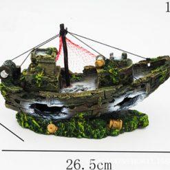 Mô hình tàu đắm trang trí thủy sinh 4
