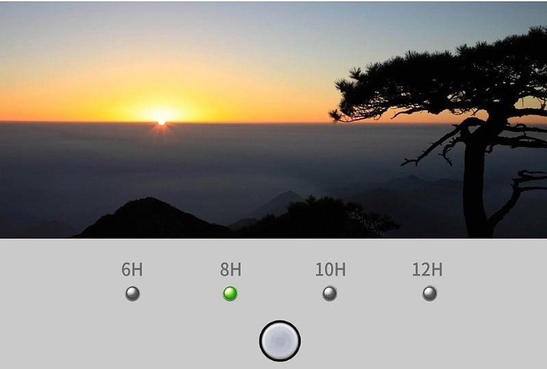 chế độ hẹn giờ đèn thủy sinh mô phỏng ánh sáng mặt trời