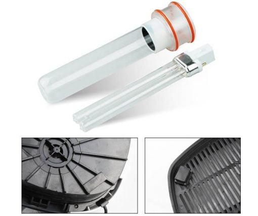 Đèn UV của lọc HW 3000