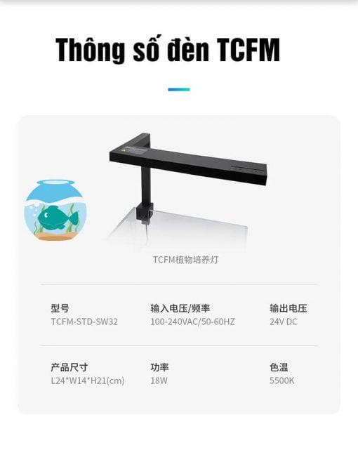 Thông số đèn led TCFM