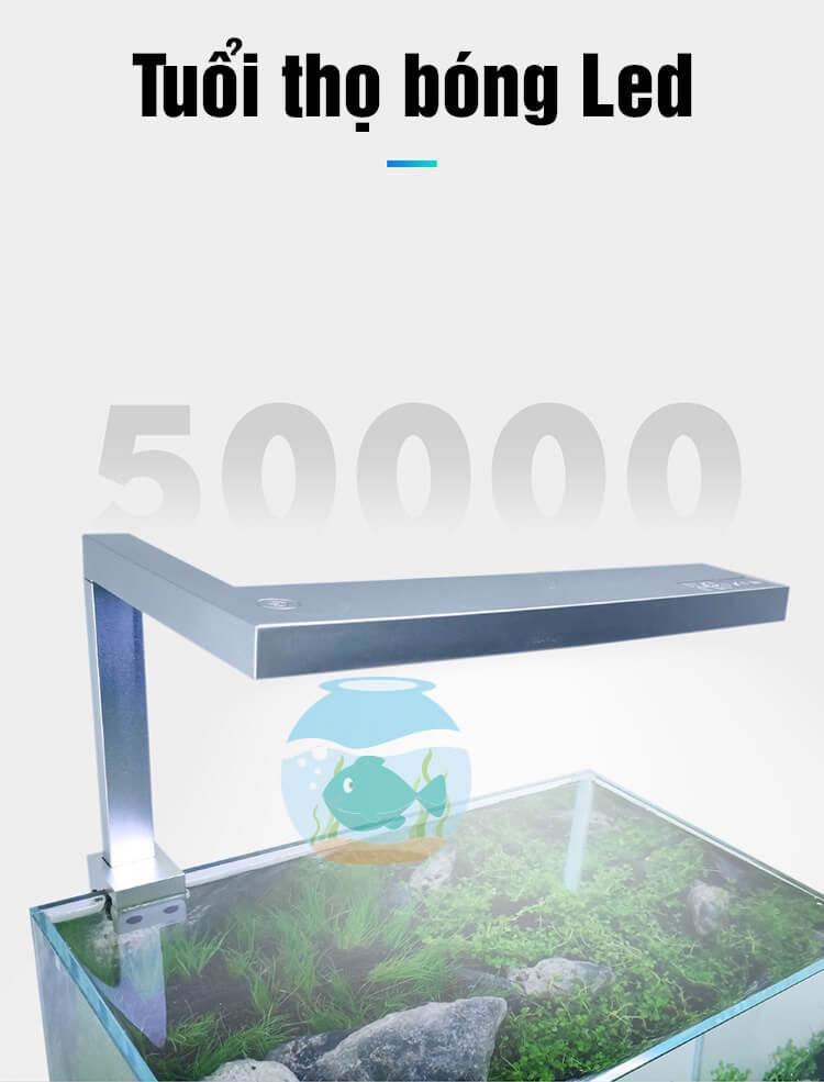 Tuổi thọ bóng led lên tới 50000 giờ