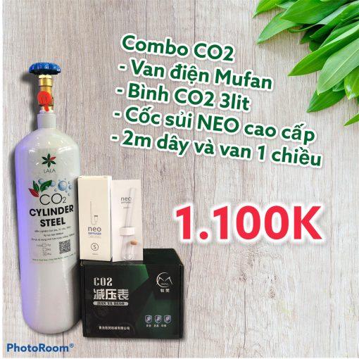 Combo CO2 thủy sinh