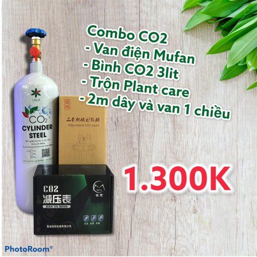 Full bộ CO2 thủy sinh