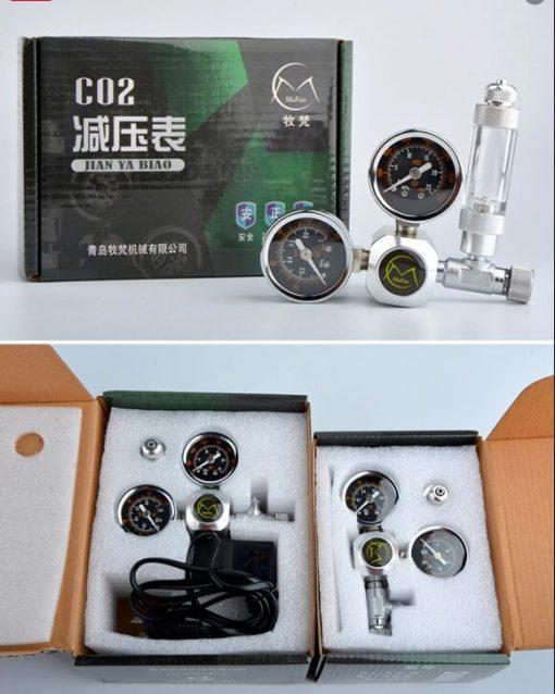 Van điện CO2 Mufan và van cơ CO2 Mufan