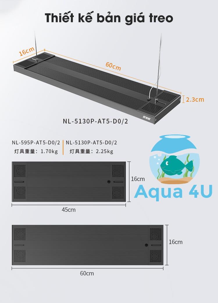 Thiết kế giá treo đèn Netlea AT5