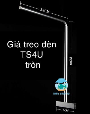 giá treo đèn TS4U tròn