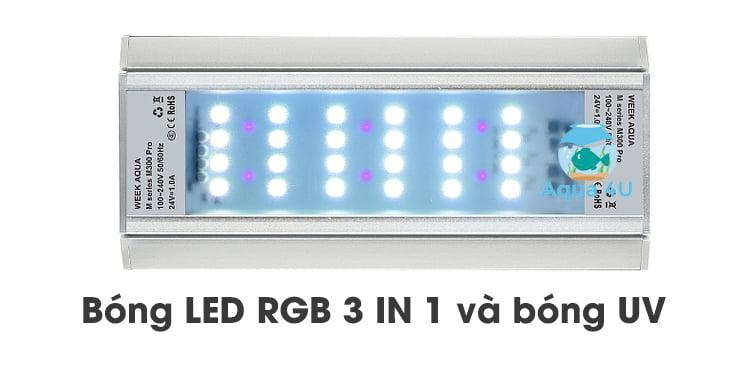 Bóng LED RGB-UV