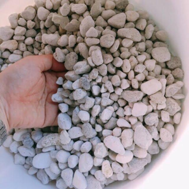 Những hạt đá vật liệu lọc Matrix