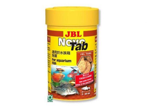 Hộp thức ăn cá cảnh JBL Novo Tab 160g 250ml