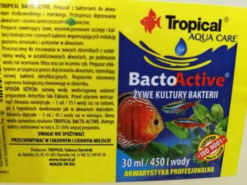 Công dụng của Bacto active tropical