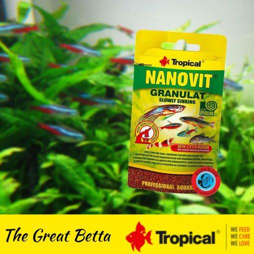thức ăn cá cảnh Tropica nanovit